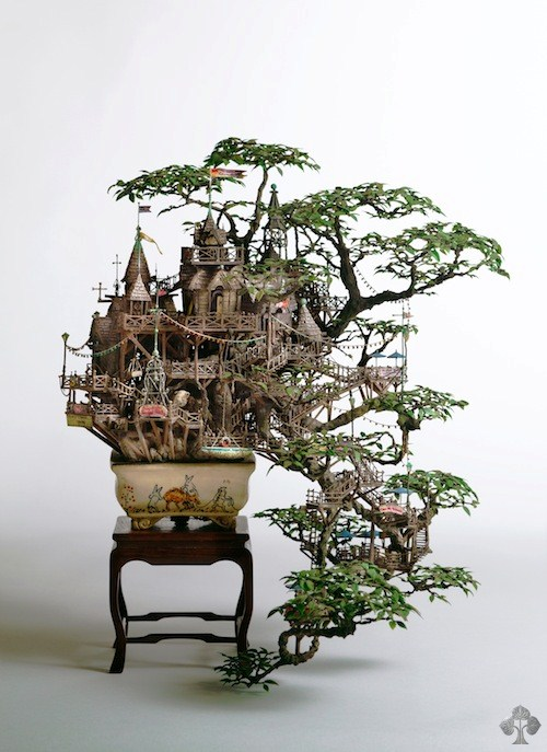 Bonsai tree house takanori aiba
