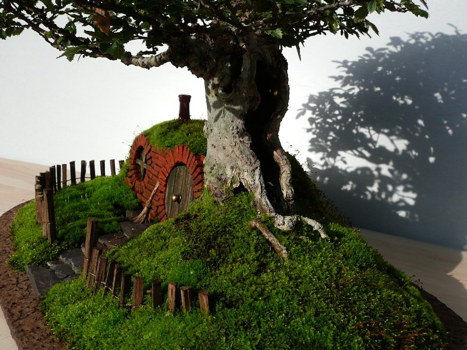 Bag End Bonsai Trayscape Bonsai Empire