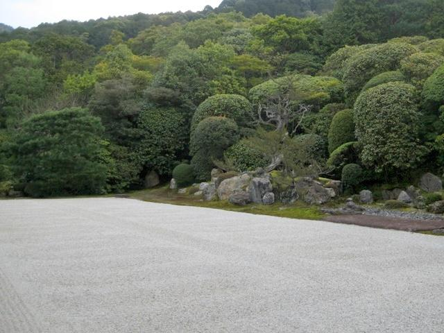 Karesansui Zen garden in Japan