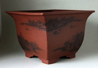 Peter Krebs bonsai pot