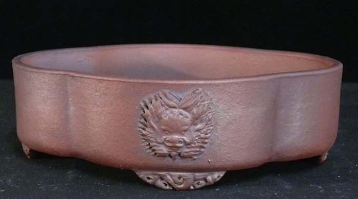 Decorated pot by Peter Krebs.