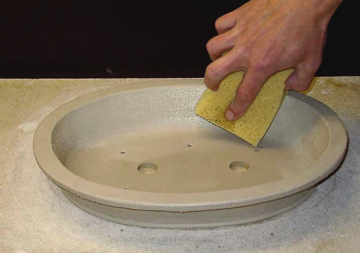smooth surface sponge