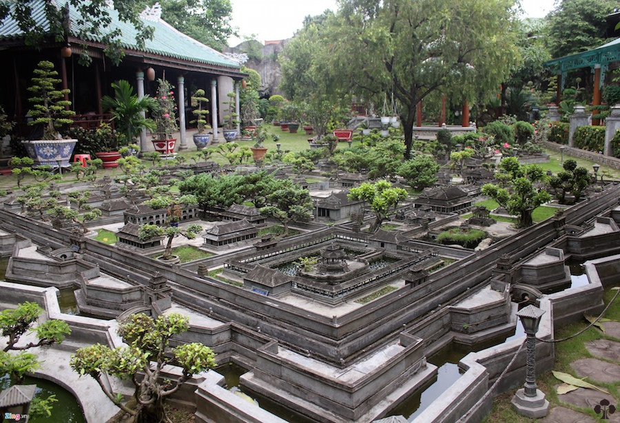 The miniature city of Hue