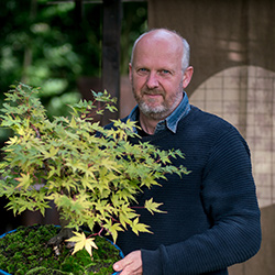 Morten Albek, Bonsai teacher