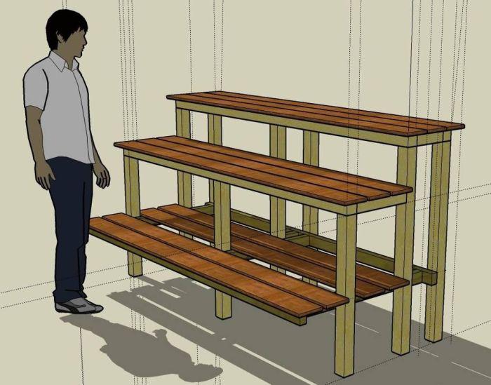 Building A Bonsai Bench Bonsai Empire
